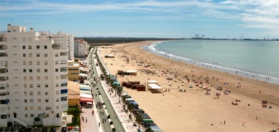 Playas de el puerto de santa mar a apartamentos larga 70 - Que visitar en el puerto de santa maria cadiz ...